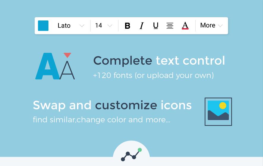 Make Free Infographics, Reports & Charts Online | Visme