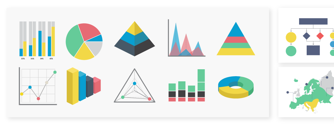 make free infographics reports charts online visme