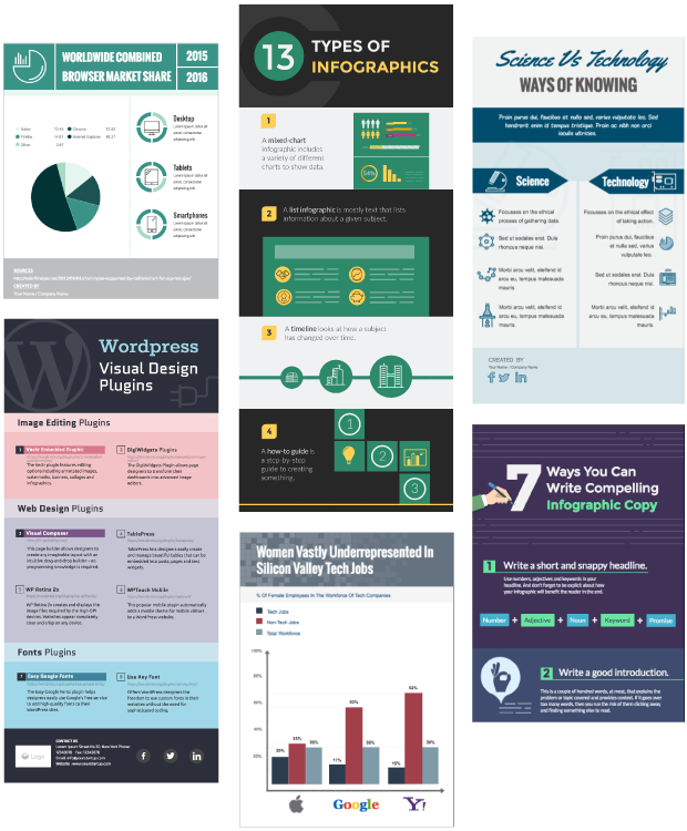 Professional Infographic Templates