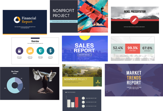 Beautiful Professional Presentation Templates