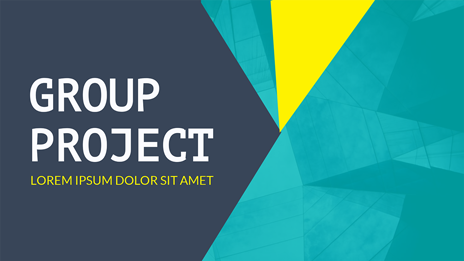 visme presentation maker group project presentation templates