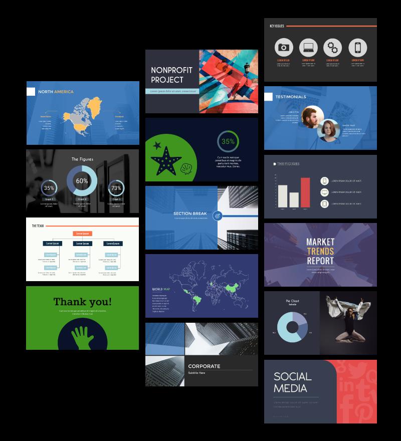 visme presentation maker presentation templates