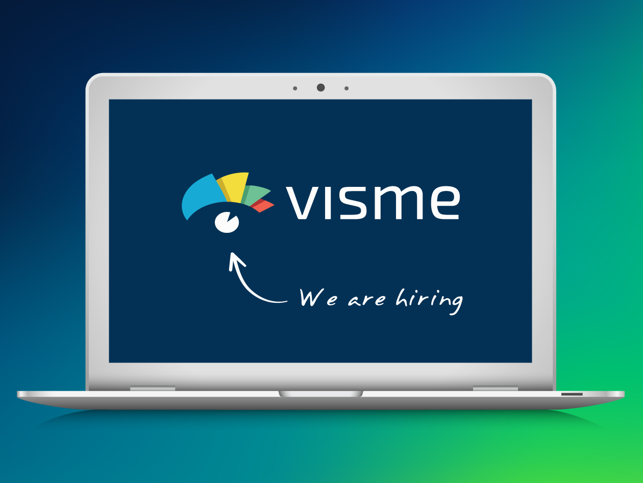 we are hiring at Visme