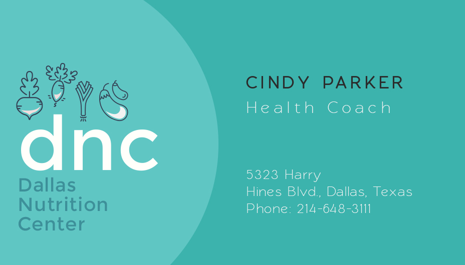 health coach business card template