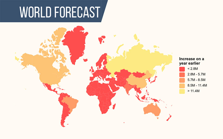 map world forecast
