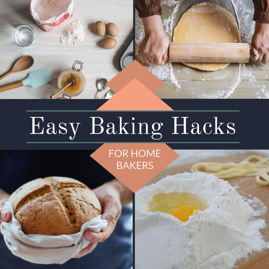 baking recipes collage template