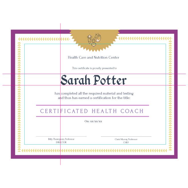 Free Certificate Maker | Certificate Generator | Visme