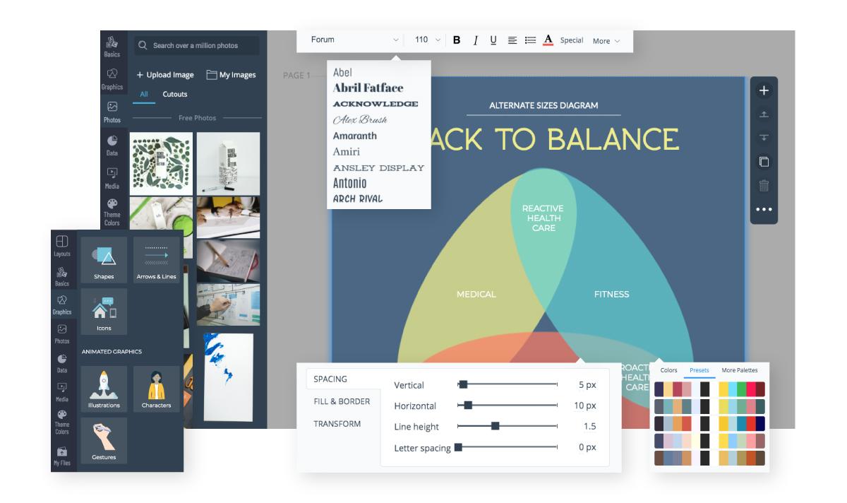 Free Venn Diagram Maker Create Venn Diagrams Visme