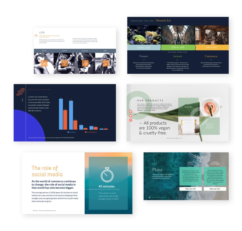 Free Online Presentation Maker Make Stunning Presentations Visme