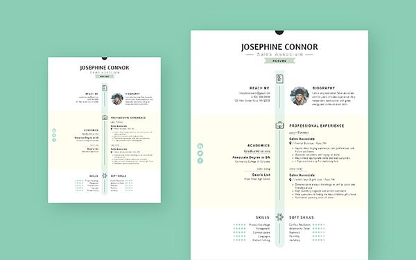Free Resume Maker Create A Professional Resume Visme