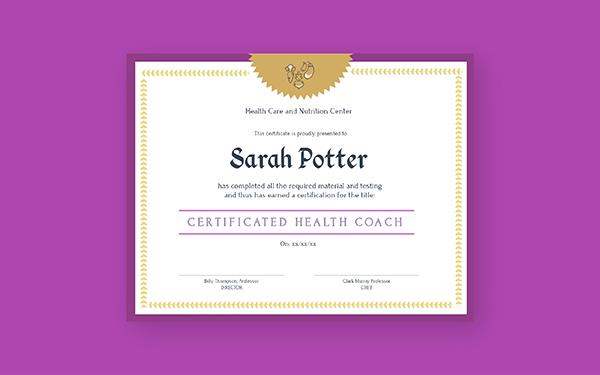 Online Certificate Maker Design Certificates For Free Visme