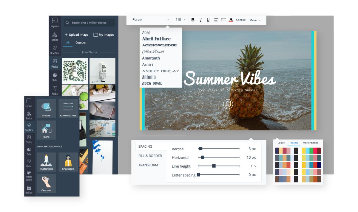 Free Online Banner Maker Design Custom Banners With Visme Visme