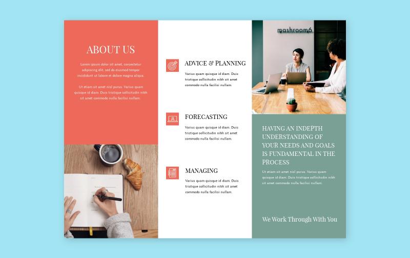 Free Online Brochure Maker Design A Brochure For Free Visme