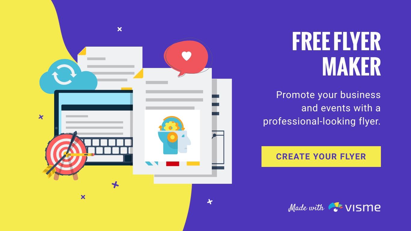 Free Online Flyer Maker Design Custom Flyers Visme