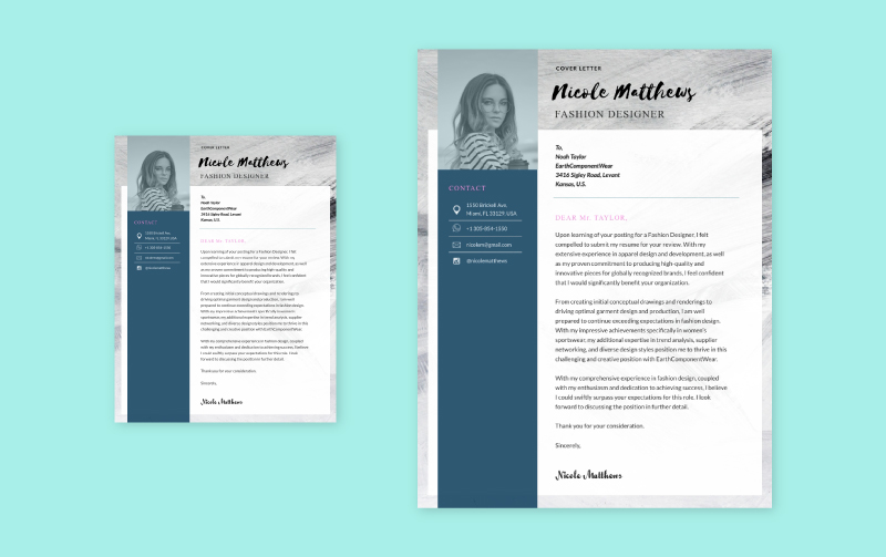 Free Cover Letter Builder Quick Cover Letters In 5 Visme