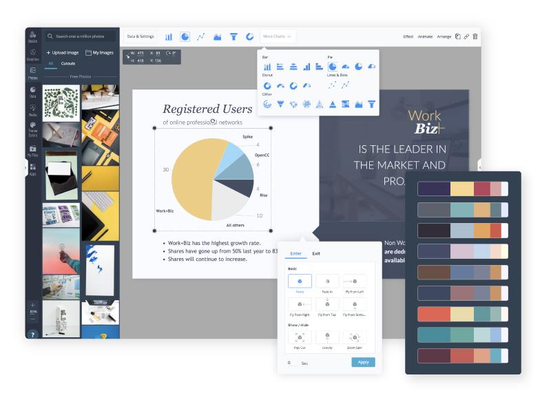 Free Online Presentation Maker 900 Slides To Use Visme