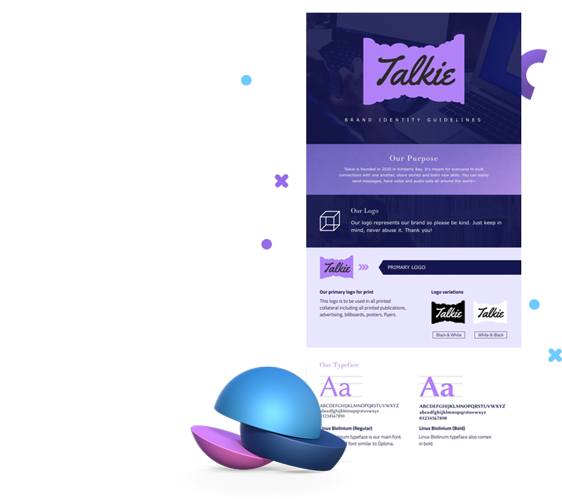 Brand Guideline Infographic Templates