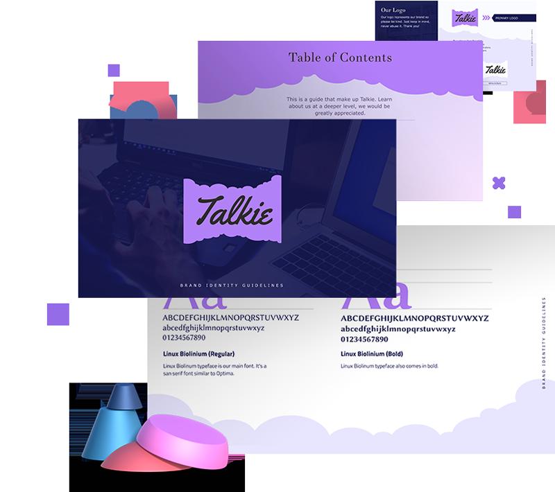 Brand Guideline Presentation Templates