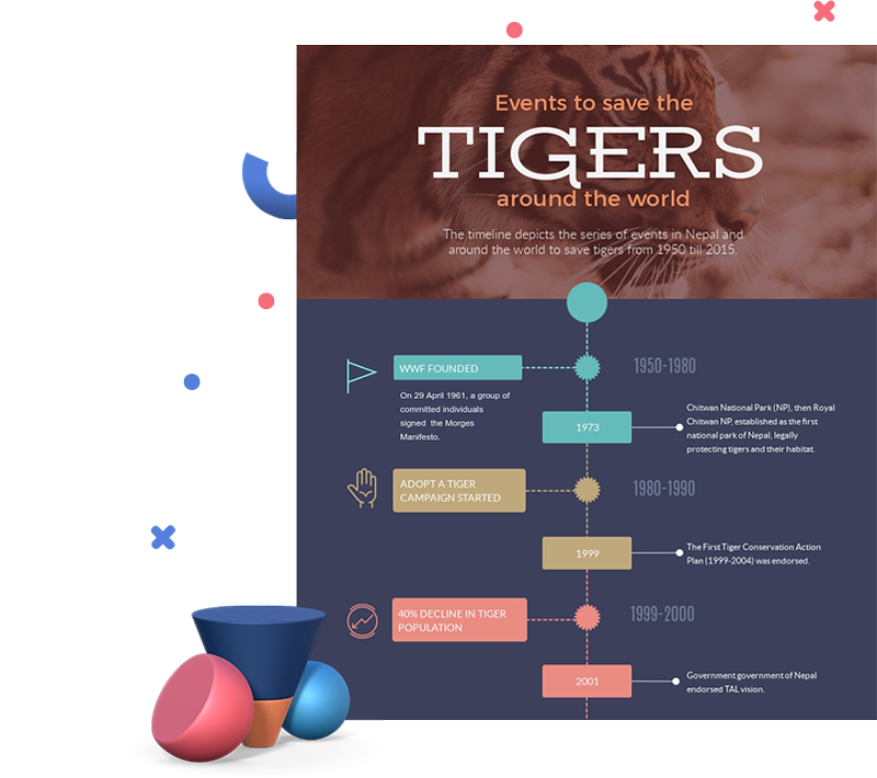 Free Professional Timeline Infographic Templates