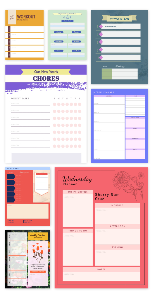 Free Online Schedule Maker Plan Ahead With Ease Visme
