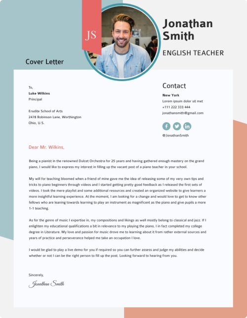 Cover Letters Templates