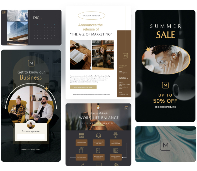 Brand Templates Created With Visme