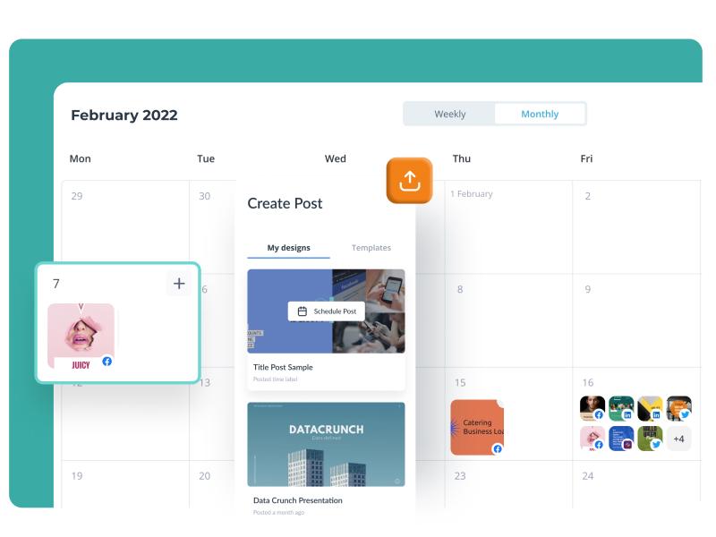 Create an easy-to-follow content calendar